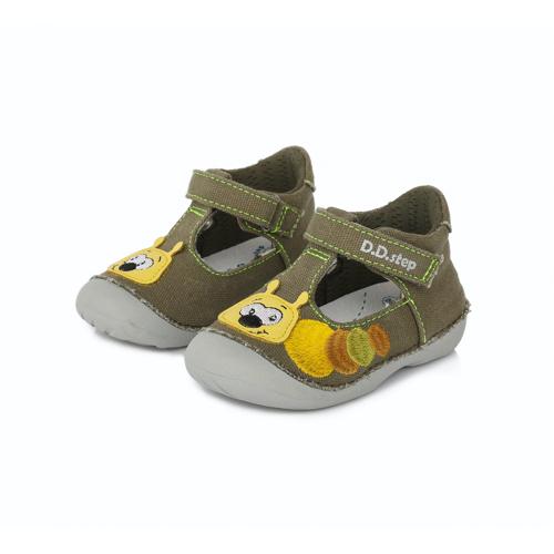 D.D.Step - Gyerekcipő - Zárt szandál - zöld, kukacos