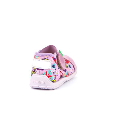 FRODDO - nyitott gyerekcipő - zárt szandál - rózsaszín, szívecskés