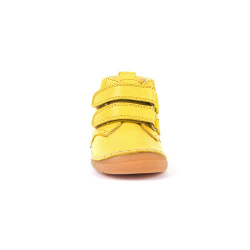 FRODDO – Átmeneti, magasszárú, bőr gyerekcipő – sárga