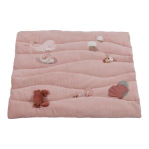 Little Dutch – baba játszószőnyeg – tengeri állatos – pink