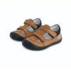 D.D. Step - Nyitott gyerekcipő - zárt szandál - barna, sötétkék