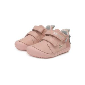 D.D.Step – Gyerekcipő – Átmeneti kislány bőrcipő – rózsaszín, unikornis