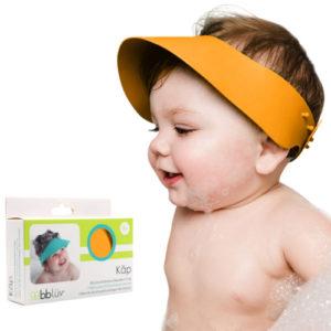 Hajmosó karika szilikonból – narancssárga