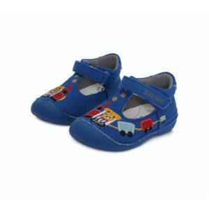 D.D.Step – Gyerekcipő – Zárt vászon szandál – kék, vonatos