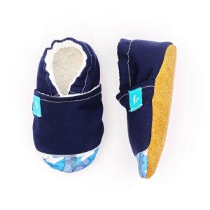 Puhatalpú kiscipő az első lépésekhez – Kék varázs