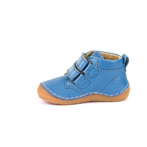 FRODDO – Átmeneti magasszárú bőr gyerekcipő – kék