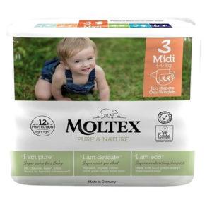 Moltex – Öko pelenka 3 (midi) – 33 db