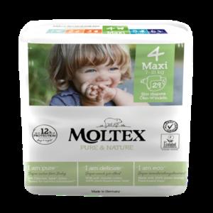 Moltex – Öko pelenka 4 (maxi) – 29 db