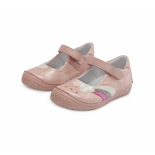 D.D.Step - Nyitott kislány cipő - Zárt szandál - rózsaszín, gyöngyház fénnyel