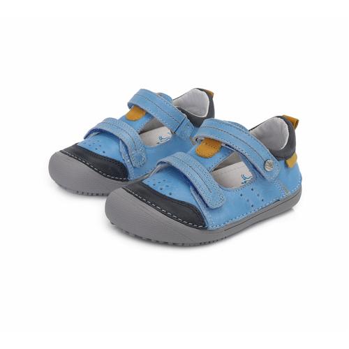 D.D. Step - Nyitott gyerekcipő - zárt szandál - világoskék