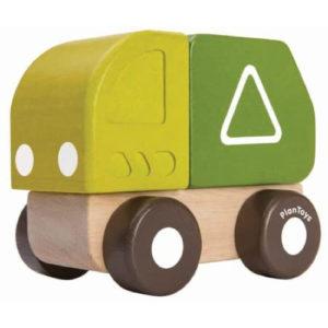 Fa autók – Mini szemetes autó