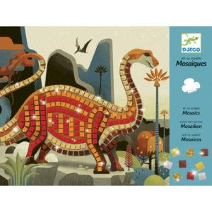 Mozaikkép készítő – Dínók (Djeco, 8899)