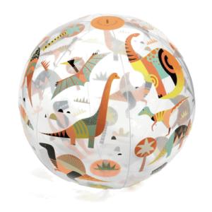 Strandlabda – Felfújható labda – Dínók (Djeco 0174)
