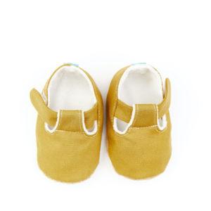 Puhatalpú szandál az első lépésekhez – Mustár