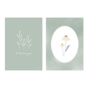 Little Dutch – A3 poszter – Vad virágok