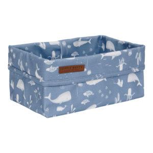 Little Dutch – Tároló doboz – kék, óceán (25 x 15 cm)