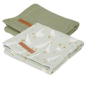 Little Dutch – Textilpelenka 2 db-os, 70 x 70 cm – Gúnáros