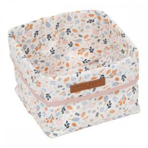 Little Dutch – Tároló doboz – tavaszi virágok (15 x 15 cm)
