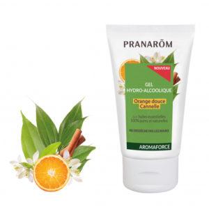PRANAROM – Alkoholos kézfertőtlenítő gél – 50 ml