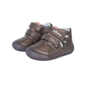 D.D.Step – Gyerekcipő – Átmeneti kislány bőrcipő – bronz