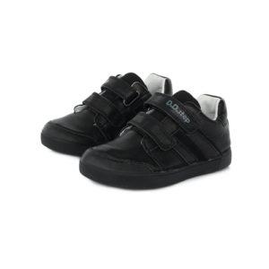 D.D.Step gyerekcipő – Zárt átmeneti bőrcipő – fekete