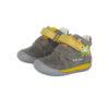 D.D.Step - Gyerekcipő - Átmeneti bőrcipő - szürke, zsiráf
