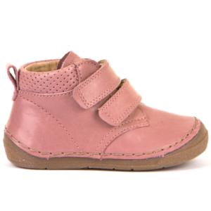FRODDO –  Duplatépőzáras, bélelt gyerek cipő – rózsaszín