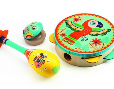 Tambourine, maracas-6016